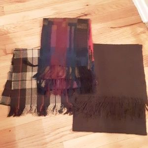 Lot of 3 Fashion scarves